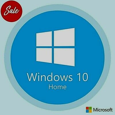 Win 10 Home / Windows 10 Home Genuine 32 & 64 Bit License Activation Key Code