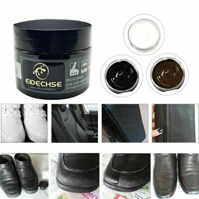Leather Furniture Repair Dye Color Restorer Shoes Paste Wax Oil Cream Tool L3