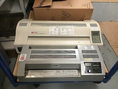 Laminating machines - desktop laminators x 2