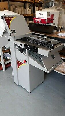 Morgana Major folding machine - 2 plate suction folder