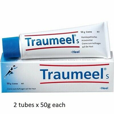Traumeel S Pain Relief Homeopathic Ointment Anti-Inflammatory Analgesic 100G.