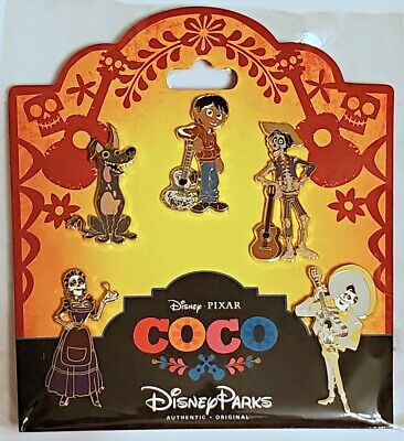 Disney Parks 5 pin set COCO - booster pack - Sealed NEW