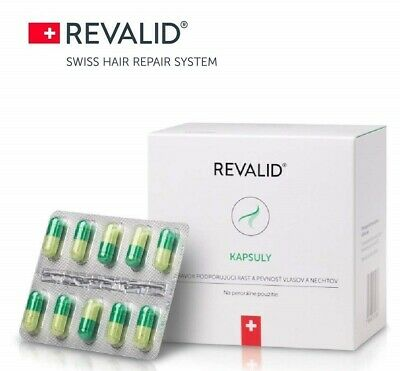 Revalid 90 Capsules For Hair Loss Prevention And Hair Loss Treatment