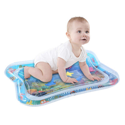 Baby Water Play Mat Inflatable For Infants Toddlers Fun Tummy Time Sea World