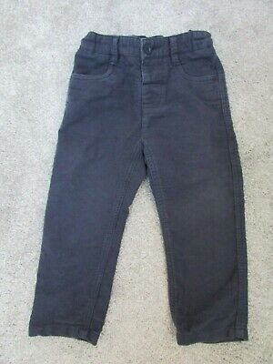 Boys Monsoon 1.5-2 years 18-24 months navy trousers - Good condition