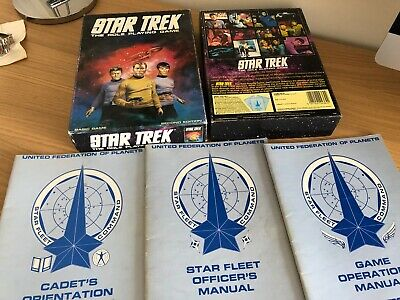 Star Trek The Role Playing Game Rpg Second Edition Games Workshop 1983