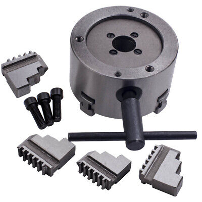 K12-100 100mm 4 Jaw Self-Centering Chuck for Lathe Milling  Metal 4-Jaw