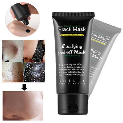 Black Mask Charcoal Purifying Blackhead Remover Acne Peel off Face Mask 50ml