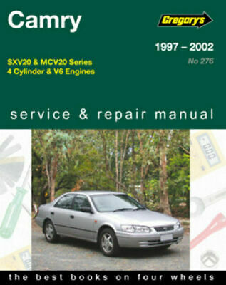 Toyota Camry (4 cyl & V6) 1997-2002 Gregorys Service & Repair Workshop Manual