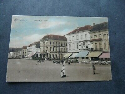 Mechelen-Malines 1906 Place de la Station
