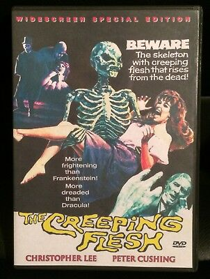 The Creeping Flesh DVD Peter Cushing, Horror, Rare, Tyburn, Amicus, Hammer