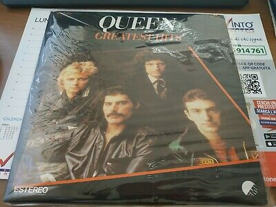 QUEEN Greatest Hits-EMI MEXICO 1981, RARISSIMO, LP VG+, TITOLI IN MESSICANO