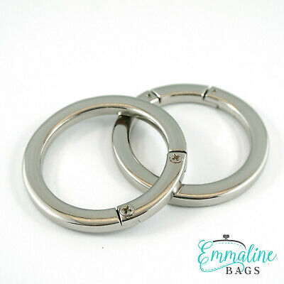 """Emmaline Bags GATE RINGS 1 1/2"""" (38mm) - for bags & crafts"""