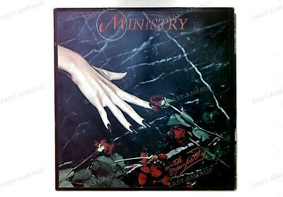 Ministry - With Sympathy GER LP 1983 + Innerbag '
