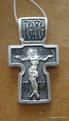 Plata de Ley 925 ' Colgante de Cruz Consecrated To The Relics de st George #5