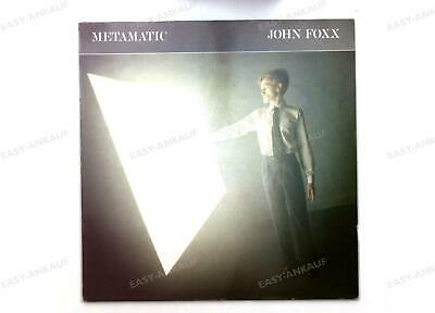 John Foxx - Metamatic Europe LP + Innerbag ´