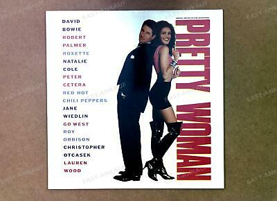Various - Pretty Woman (Original Picture Soundtrack) Europe LP 1990 .