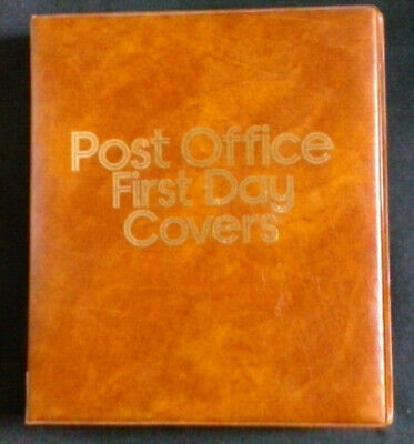 Post Office - First Day Cover Album With 15 Double/2 Single Pocket Sleeves