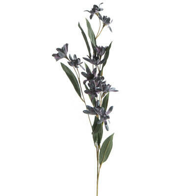 Lavender and Gray Artificial Wildflower Stems