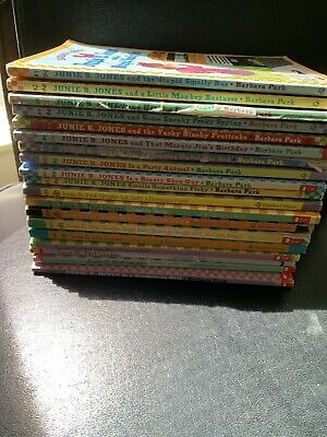 19 Junie B. Jones By Barbara Park Good To Very Good Condition Free Shipping