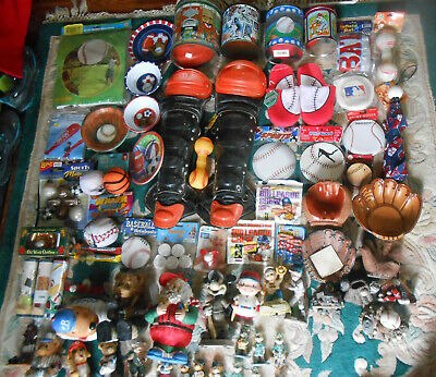 320+ Baseball Novelty Kid's Party Items Lamps Balls Mugs Figures Tins Toys EX NR