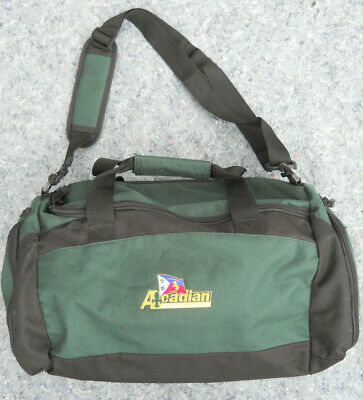Acadian Duffel Bag Packable Travel Gym strap lining complete