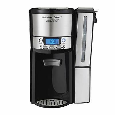 Hamilton Beach Coffee Maker with 12 Cup Capacity & Internal Storage Coffee Pot