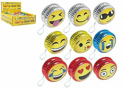 YOYO Light Up LED Cute Emoji Great Classic Gift Kids and Children Toy