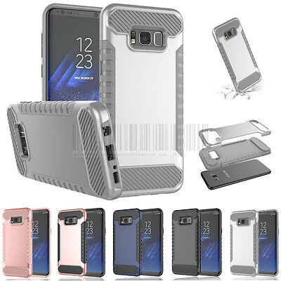 Slim Hybrid Case Shockproof Armor Bumper Cover For Samsung Galaxy S8 / S8 Plus
