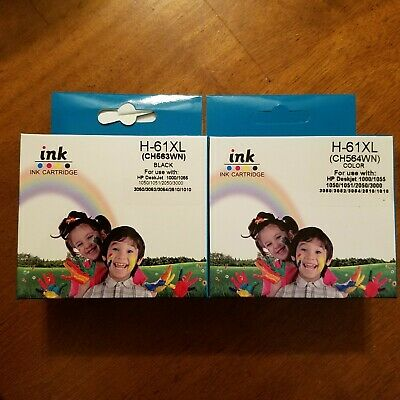 Combo Pack For HP 61XL Ink Cartridges HP DeskJet (Read description)