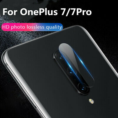 For OnePlus 7/7Pro Back Rear 1+7 Camera Lens Screen Protector Glass Film HD lot