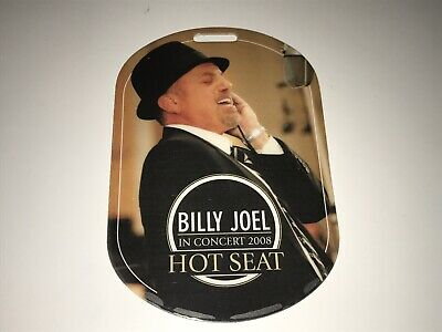 Billy Joel Rare Concert Laminate Plastic VIP Pass 99 CENT Starting Bid Sale !
