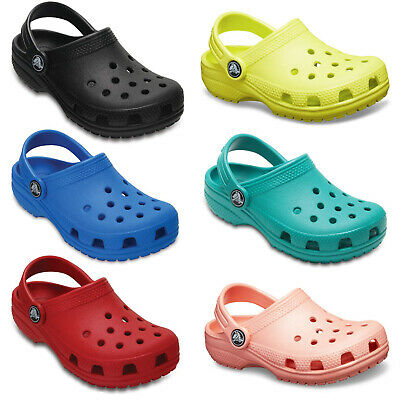 Crocs Classic Clogs Childrens Summer Beach Croslite Kids Unisex Sandals UK4-3