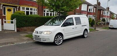 Vw caddy maxi 1.9tdi 104 twin SLD 2008(58) excellent condition