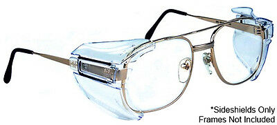 2 x  B52 Safety Glasses Side Shields With Fitting Instructions Quality Product