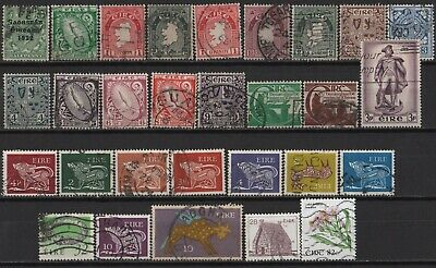 Ireland - Small Lot of All-Different Used Stamps!