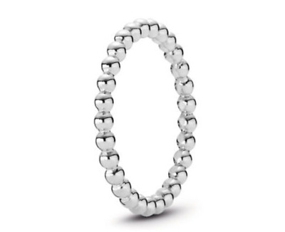 68ab13d0b NEW AUTHENTIC PANDORA Sterling Silver Eternal Clouds Bubble Ring ...