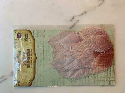 Prima Fabric Leaves – Shades Of Pink