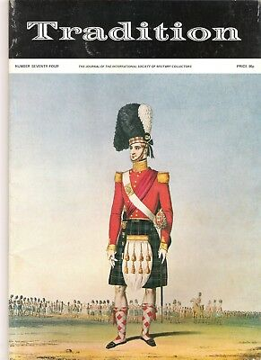 Tradition Magazine - International Society of Military Collectors - Issue 74