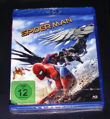 Spider Man Homecoming Blu Ray New & Sealed