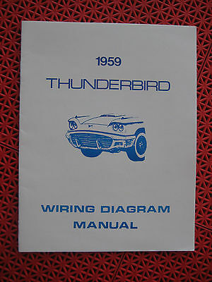 1959 ford thunderbird wiring diagram