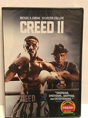 Creed II  (DVD,2018) (DVD, 2019) USA SELLER FACTORY SEALED & WRAPPED BRAND NEW