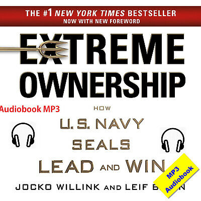 Extreme Ownership Jocko Willink & Leif Babin MP3 Audiobook Fast E-delivery