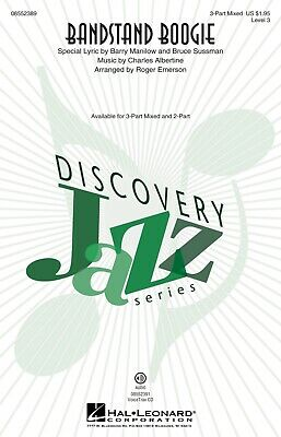 Bandstand Boogie (Discovery Level 3) 3-Part Mixed arranged by Roger Emerson