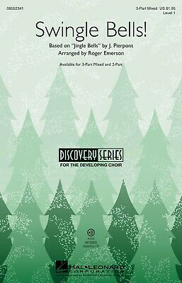 Swingle Bells! (Discovery Level 1) 3-Part Mixed arranged by Roger Emerson