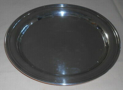 """TIFFANY & CO. SILVER PLATED 10"""" TRAY FOR MIRAGE HOTEL New Year's 1992"""