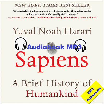Sapiens by  Yuval Noah Harari  ( MP3 Audiobook ) Fast E-delivery