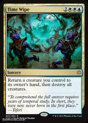 Time Wipe Near Mint Normal English Magic the Gathering MTG War of the Spark Card