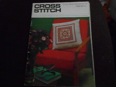 Vintage Cross Stitch Magazine From 1970
