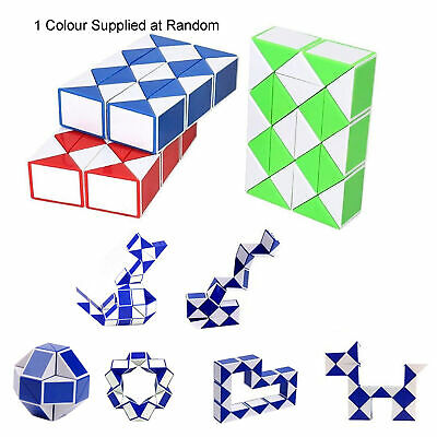 Puzzle Cube Snake Great for Party Loot Bags - Random Colour